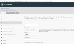 Deploying Production Grade Pivotal Cloud Foundry's Pivotal Application Service(PAS)